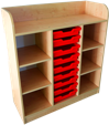 Cabinets with boxes