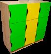 Kindergarten cabinets