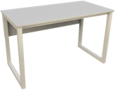 Stalai su metaliniu rėmu